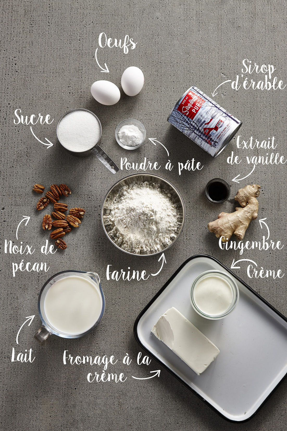 Pouding-Chomeur-Ingredients-FR