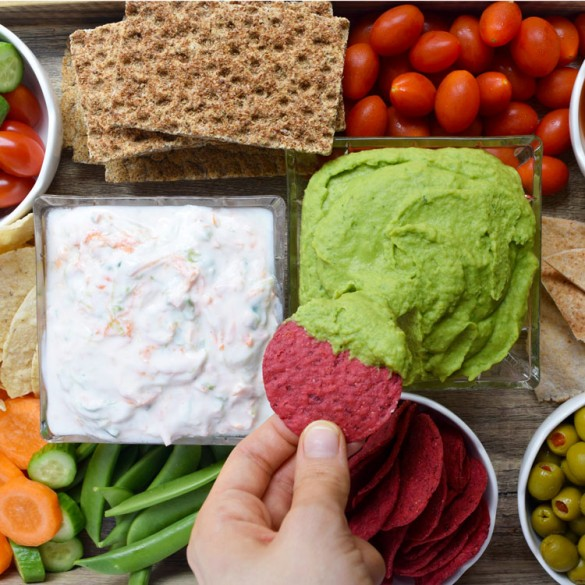 Make Easy and Healthy Dips to Snack on All Summer Long