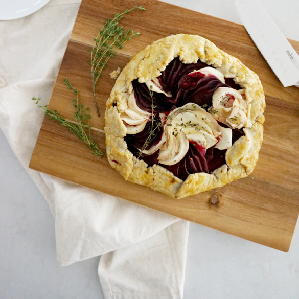 Beet, Parsnip and Goat Cheese Galette: Your New Favourite Comfort Food