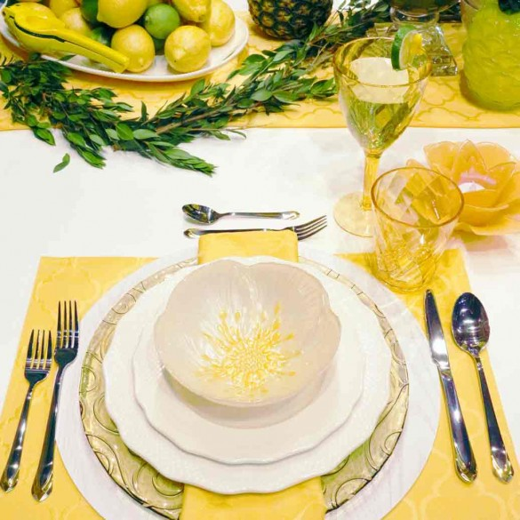 Get Inspired for Your Summer Wedding Table Setting!