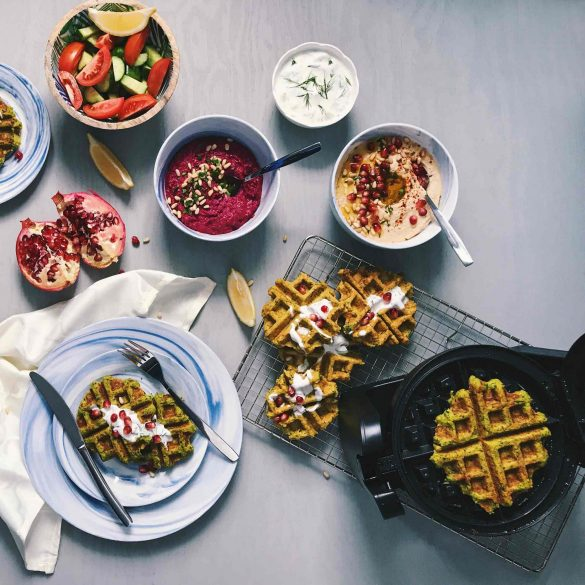 Waffled Falafels: A Fresh New Recipe for Your Waffle Iron