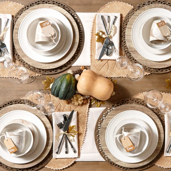 5 Inspiring Ideas For An Elegant Thanksgiving Table