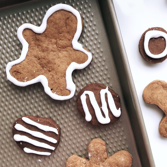 Easy & Healthy Chocolate Shortbread And Gingerbread Cookie Recipes