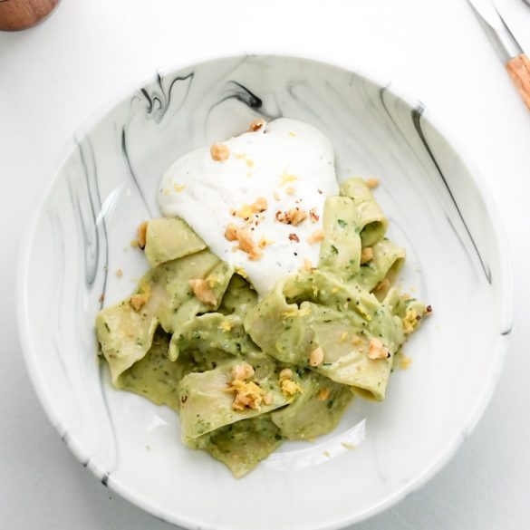 Going Green…With Pasta