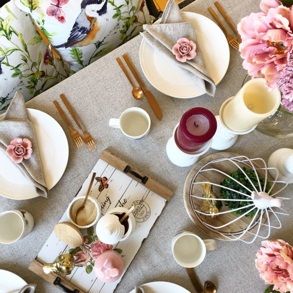 Tips For Setting The Prettiest Spring Table